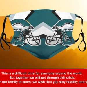 Football Team Philadelphia Eagles Face Mask PM2.5 – Filter Face Mask Activated Carbon